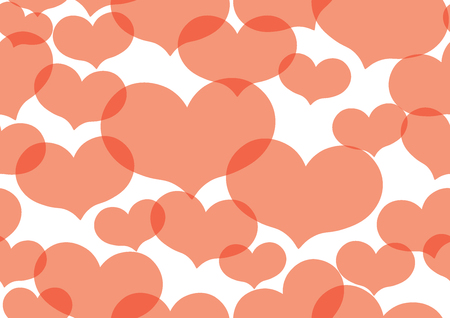 Valentine Heart Texture background decoration