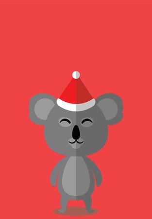 KOALA CHRISTMAS HAT - CHRISTMAS BUDDIES SERIES.