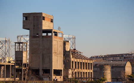 ARCHEOLOGY OF INDUSTRIAL ARCHITECTURE: OLD FACTORY STRUCTURE IN OSTIENSE DISTRICT (ROME, ITALY)