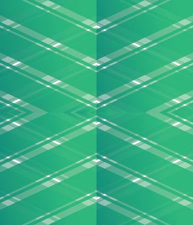 Modern Tartan Flat Seamless Texture - Green Gradient