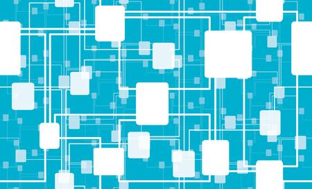 Artificial Intelligence - Neural Network Seamless texture Illustration