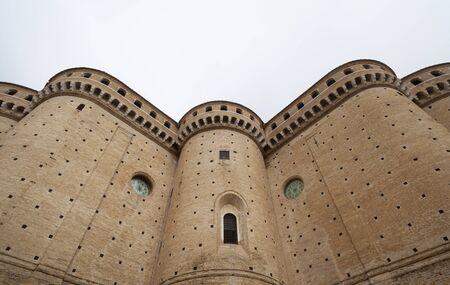 Loreto Santuario della Santa Casa perimeter walls details (Basilica of Santa Casa in Loreto) perimeter walls details