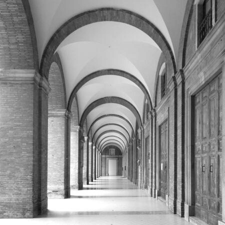 Recanati Town hall Portico (arch perspective view)