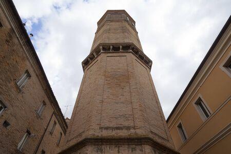 Torre del passero solitario in Recanati, Italy (Solitary Robin Tower in Recanati)