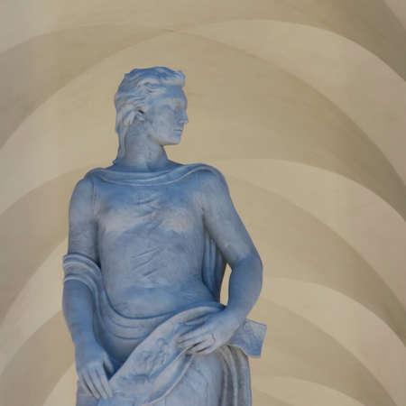 Dioscuri, Statue Civilization Palace Rome Eur (Italy)