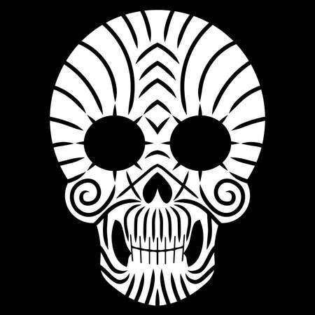 Mexican Calavera Skull icon/symbol