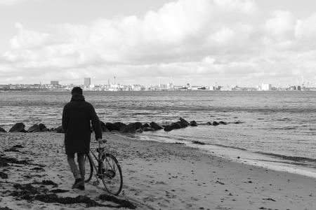 Beach in Aarhus Denmark