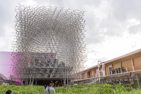 expo: Expo 2015 Milan - UK pavilion Editorial