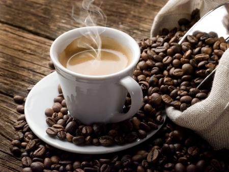 tasse de caf�: caf� chaud