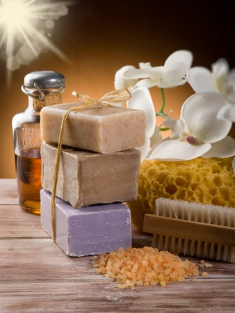 aroma bowl: spa and bath concept
