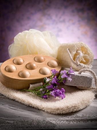 spa and bath concept  photo