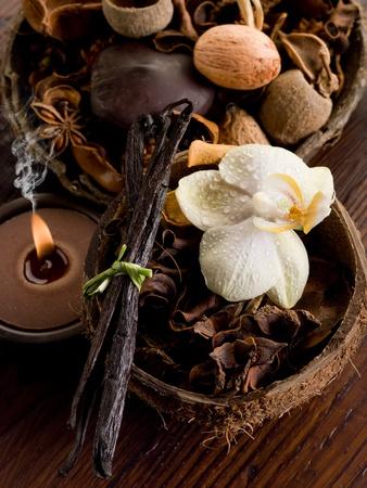 aromatherapy spa concept photo