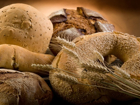 variety of bread photo