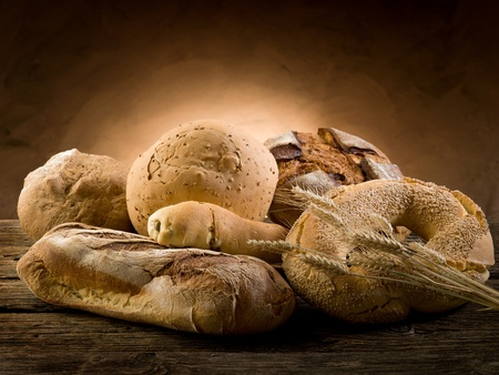 variety of bread photo