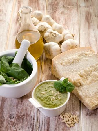 pesto ingredients photo