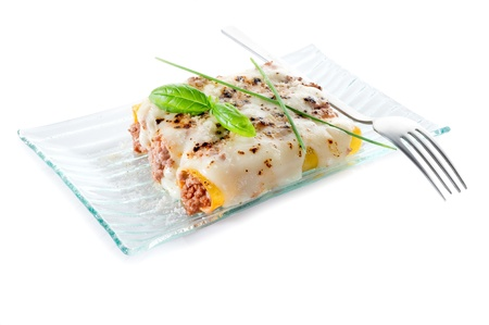 ricotta cheese: cannelloni ragout