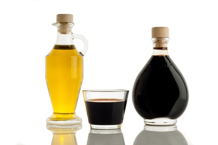 balsamic: italian balsamic vinegar of Modena and olive oil