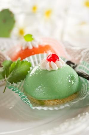 varietà di dessert cassate sicilia Archivio Fotografico - 10250648
