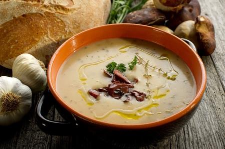 mushroom soup: mushroom soup