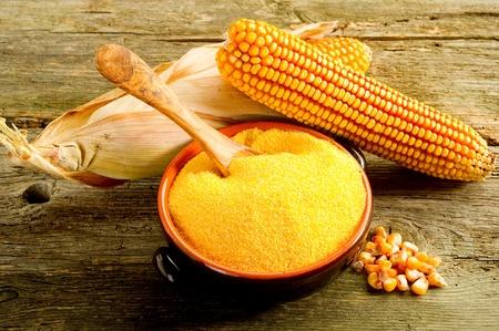 maize: maize  flour