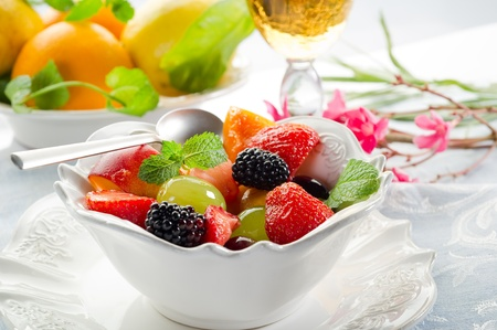fruits salad photo
