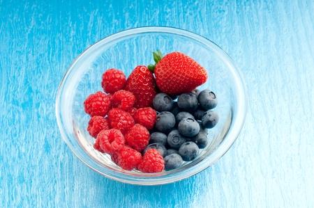 mixed soft fruits photo