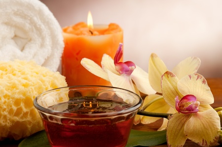 aromatherapy and spa concept Stock Photo - 10387866
