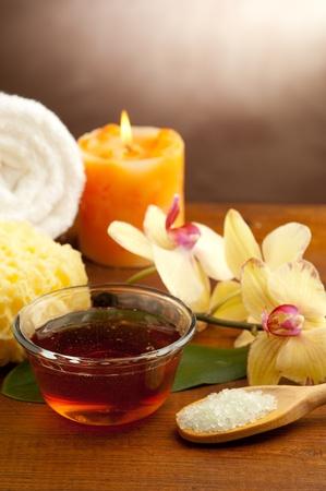 aromathérapie et spa concept