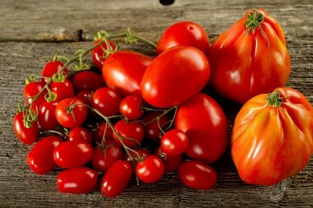 ingredients for italian tomato pasta sauce photo