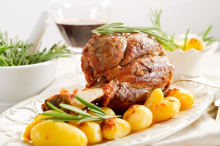 beef stew: shank with potatoes