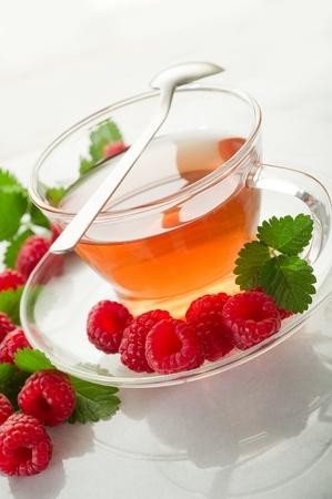 raspberry tea photo