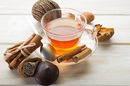 grog: spiced tea Stock Photo