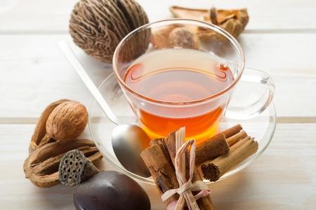 spiced: spiced tea Stock Photo
