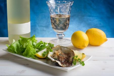 au: oyster au gratin