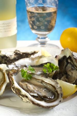 fresh baked: fresh french oyster