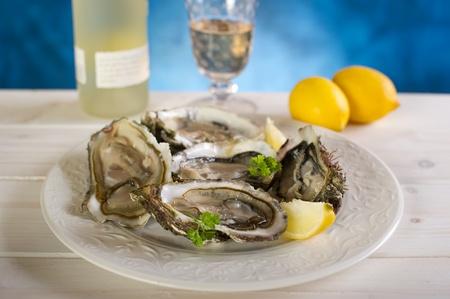 fresh french oyster