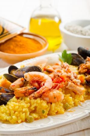 kitchen spanish: fish paella