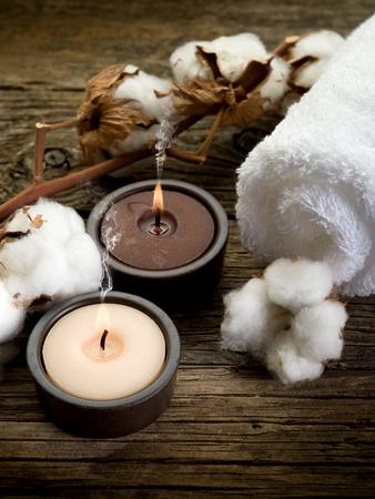 boll: cotton towel- spa concept