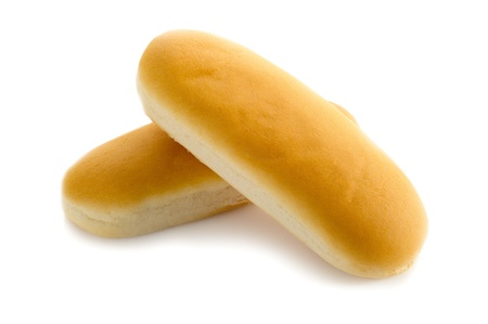 hotdog: hot dog bread Stock Photo