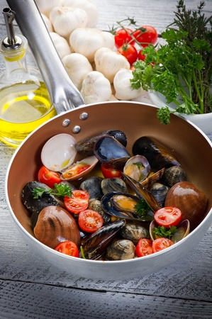 crustacean over casserole photo