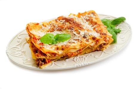 italian lasagne  with ragout