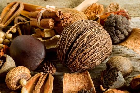 potpourri:  scented potpourri  aromatherapy and spa concept Stock Photo