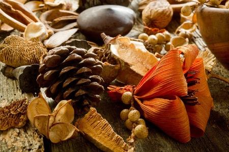 flores secas: aromaterapia popurrí perfumado y el concepto de spa