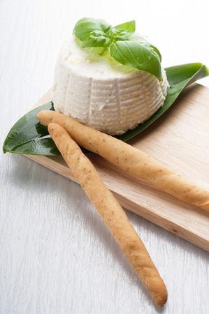 brea: ricotta  basil  and brea stick