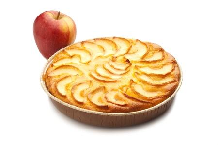 tourtes: g�teau aux pommes Banque d'images
