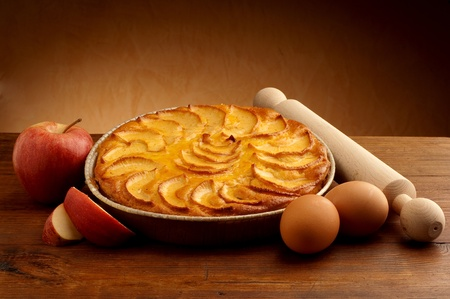 apple pie: apple cake
