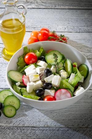 kalamata: greek salad