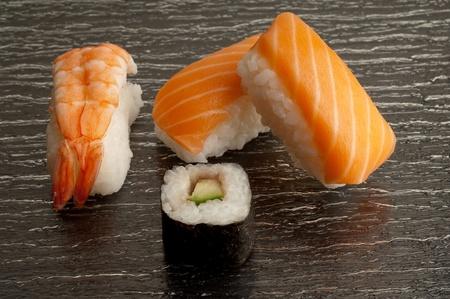 variety of sushi photo