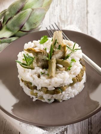 artichoke: risotto with artichokes