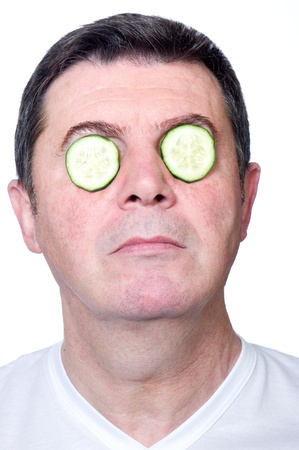man skin care photo